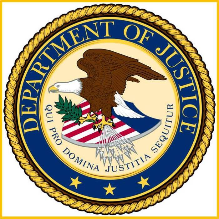 U.S. Department of Justice