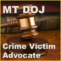 Montana Department of Justice Crime Victim Advocate