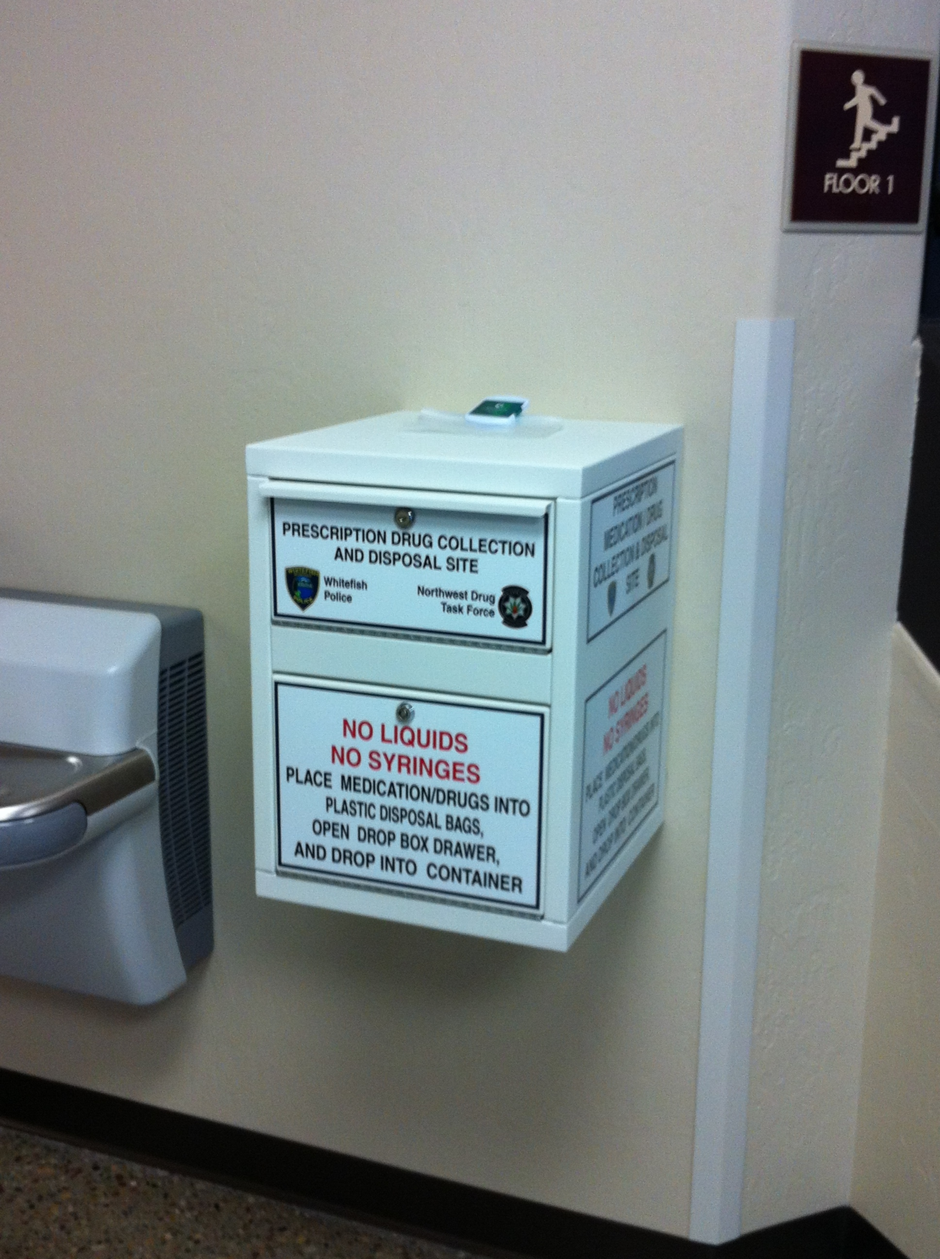 Pharmaceuticals Drop Box
